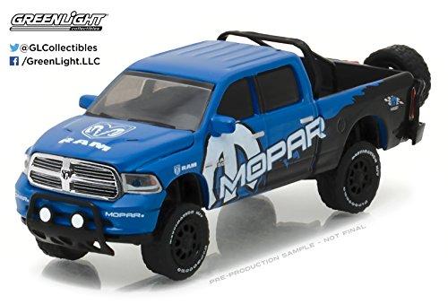 Greenlight 29887 2017 Dodge Ram 1500 Pickup Truck MOPAR Off-Road Edition Hobby Exclusive 1/64 Diecast Model (Off Road Dodge Trucks)