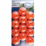Best Golf Holes - Intech I99023 Golf Practice Balls with Holes, 12 Review