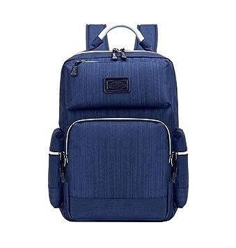 Xiuy Vintage Mochilas Tipo Casual Outdoor Viajes Bolsas Gran Capacidad Resistente Mochilas Comodas Ordenador Backpack Multibolsillos Mochilas Escolares para ...