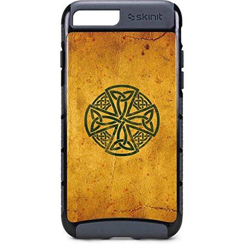 Skinit Illustration Art iPhone 7 Plus Cargo Case - Celtic Cross Design - Durable Double Layer Phone Cover
