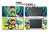 Ben 10 Reboot Ten 2016 Cartoon Tennyson Video Game Vinyl Decal Skin Sticker Cover for Nintendo New 2DS XL System Console
