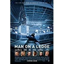 Man On A Ledge -11X17 Original Promo Poster Mint Sam Worthington Elizabeth Banks