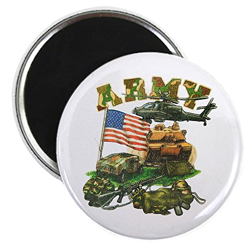 2.25 Inch Magnet Camouflage US Army Helicopter Tank