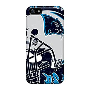 Iphone 5/5s Case Cover Skin : Premium High Quality Carolina Panthers Case