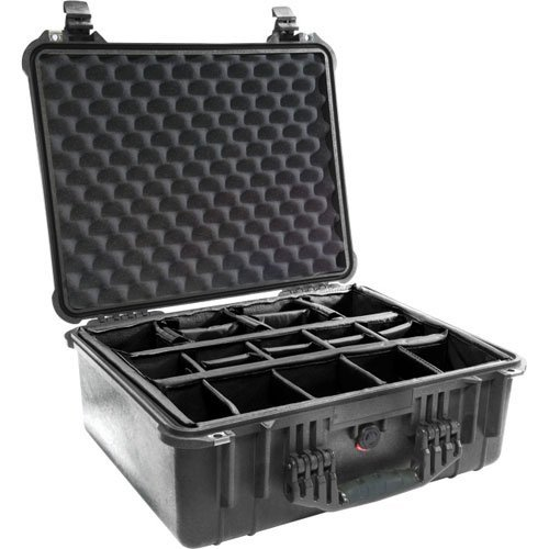 PELICAN 1550-004-110 Case with Padded Divider
