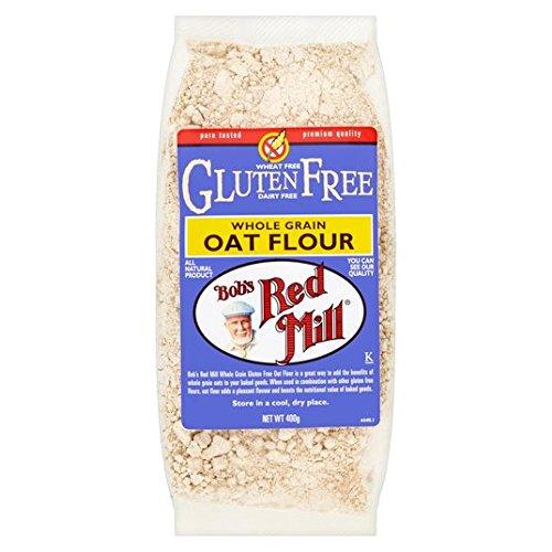 400 g de harina molino rojo libre del gluten de avena de Bob: Amazon.es: Alimentación y bebidas