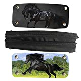 Mingdou Horse Pencil Case For Toddler Kids Boys Girls Animal Personalized Holder Tote Pouch Bags(DPHorse17)