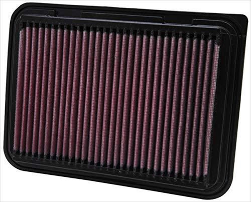 K&N engine air filter, washable and reusable:  2002-2019 Toyota Compact L4 1.2/1,5/1.6/1.8/2.0 L (Auris, Avensis, Corolla, Vitz, Yaris, Verso, Probox, Ractis, Wish, Alion, Premio) 33-2360 (2010 Corolla Filter Engine)