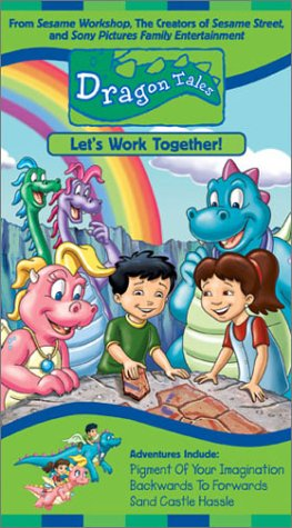 Dragon Tales - Lets Work Together [VHS]