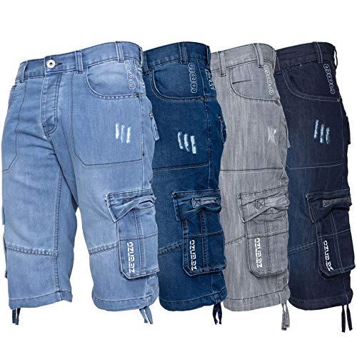 - Ze Enzo EZS404 Grey 38 Shorts