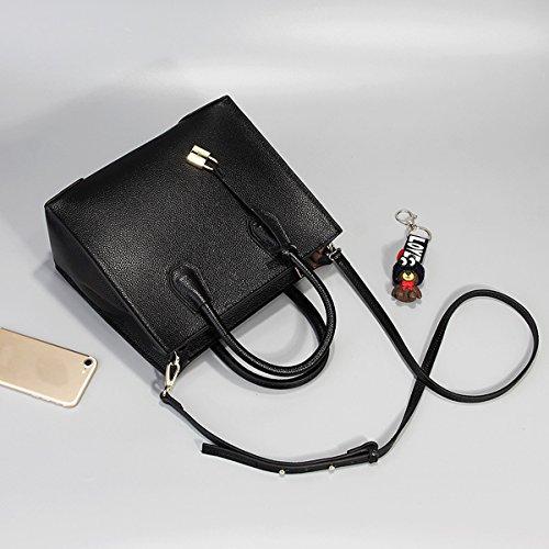 à Sac 189 main bandoulière femme main en portés DISSA cuir LF portés Noir fashion épaule Sac Sac Sac tZx55Pqg