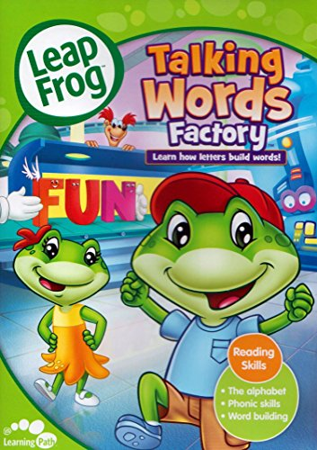 Leapfrog Talking Words Factory - LeapFrog Talking Word Factory: Learn how letters build words