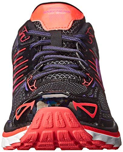 Skechers Sport Salita Moda Della Scarpa Da Tennis Black pink