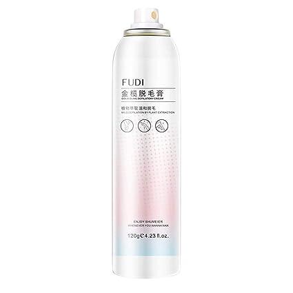 RISTHY Crema Depilatoria Mujeres,120g Spray Mousse de Depilación Eliminación Permanent Profesional Piel Sensible Suave