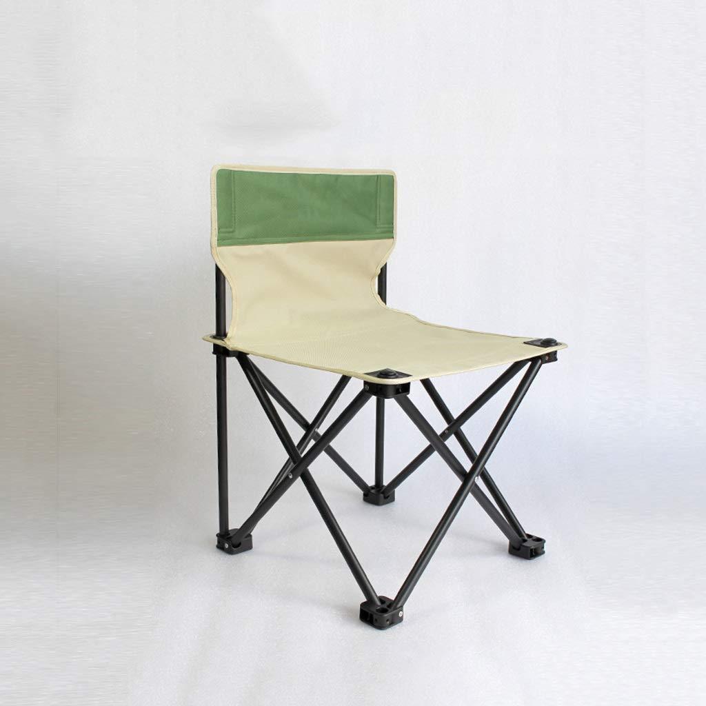 42×42×63cm vert 1949shop Chaise Pliante portative Chaise de Camping Pliante légère Poids Pliable portative MultiCouleure en Option FKYGDQ (Couleur  Rouge, Taille  36 \u0026 Times; 36 \u0026 Times; 57cm)