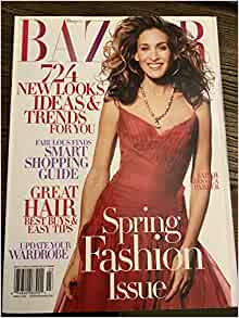 Harpers Bazaar - March 2004 Sarah Jessica Parker / Sex