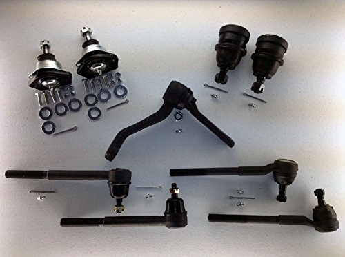 PartsW 9 Piece Kit Upper & Lower Ball Joints, Outer & Inner (82 Upper Ball Joint)