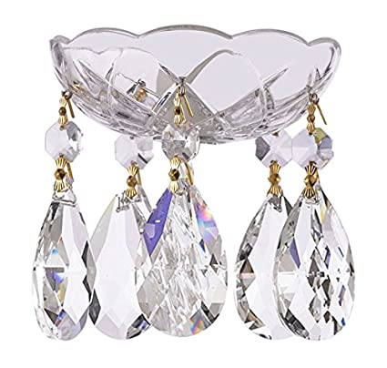 Amazon asfour crystal 1 piece 4 inch 5 holes clear 30 asfour crystal 1 piece 4 inch 5 holes clear 30 lead crystal aloadofball Image collections