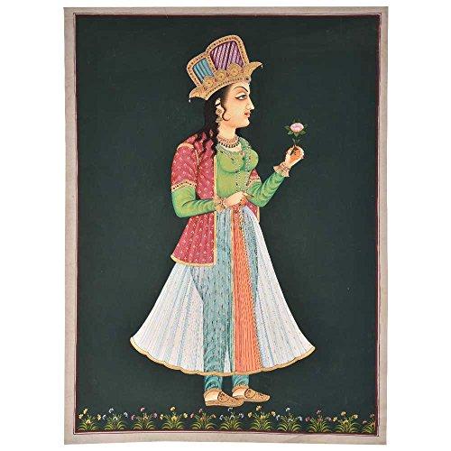 Indian Shelf Handmade Noor Jahan Historical Painting/Wall Art PT-01
