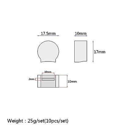 51TWQSbpIpL._SX425_ amazon com non brand 10 pieces rubber clarinet thumb rest cushion