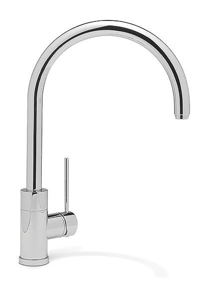 Image Unavailable  sc 1 st  Amazon.com & Blanco 440605 Purus II Kitchen Faucet Chrome - Touch On Kitchen ...
