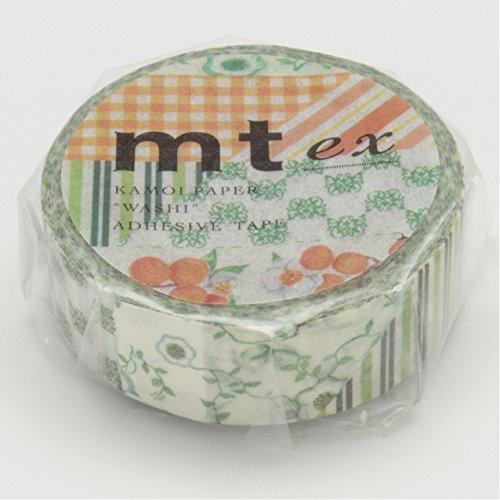 Mt Washi Masking Tape Ex Flower Green (MTEX1P32) by MT (Image #4)