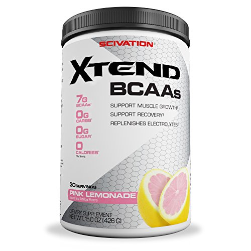 Price comparison product image Scivation Xtend BCAA Powder, Branched Chain Amino Acids, BCAAs, Pink Lemonade, 30 Servings