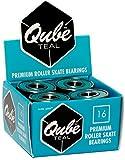 Sure-Grip QUBE Teal Bearings - 8mm Boxed