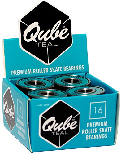 (Sure-Grip QUBE Teal Bearings - 8mm)