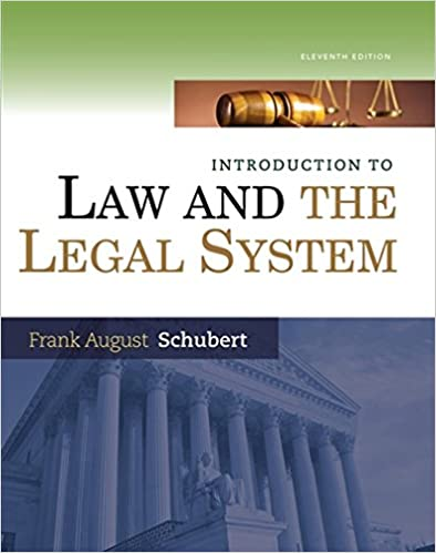Amazon introduction to law and the legal system introduction to law and the legal system 11th edition fandeluxe Image collections