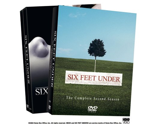 Amazon Com Six Feet Under The Complete First Two Seasons 2 Pack Peter Krause Michael C Hall Frances Conroy Lauren Ambrose Freddy Rodriguez