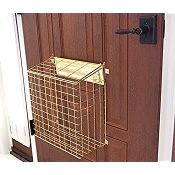 Homewell Mail Catcher Letterbox Basket For Mail Slots
