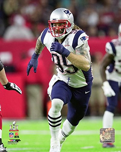 e47ea3bef Image Unavailable. Image not available for. Color  Chris Long New England  Patriots Super Bowl LII ...
