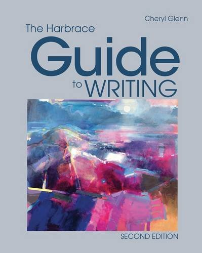 The harbrace guide to writing, concise 9780495913993 cengage.
