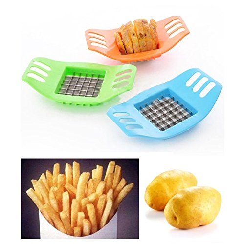 Show 1 X Stainless Steel Potato Cutting Device, Cut Fries Device,kitchen Supplies price