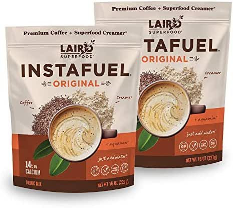 Laird Superfood Instafuel Instant Coffee, 2 lb
