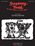 Stephen Sondheim Sweeney Todd Revised Edition Vocal Selections Book