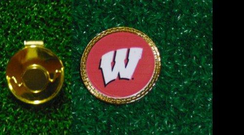 Gatormade Golf Ball Marker & Hat Clip Wisconsin Badgers Wisconsin Badgers Hat Clip