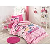 Pink Queen bedding set, 100% Cotton, Full/Twin Size Multifunctional Four Season Bedding Set, Quilted Bedspread/Duvet Cover Set, 3 PCS, Pink