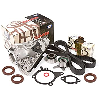 ECCPP Timing belt kit water pump Valve cover gasket for Mazda Miata 1.8 94-00