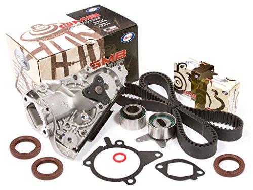 Evergreen TBK179WP2 Fits 94-05 Mazda Miata MX-3 Protege Kia Sephia 1.6 1.8 DOHC 16V B6 BP Timing Belt Water Pump Kit ()