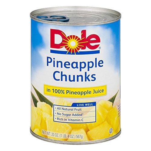 Dole Pineapple Chunks 20 Oz