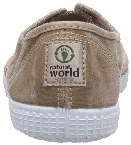 Natural World INGLES PUNTERA TINTADO Unisex-Kinder Flache Hausschuhe Beige (BEIGE 46)