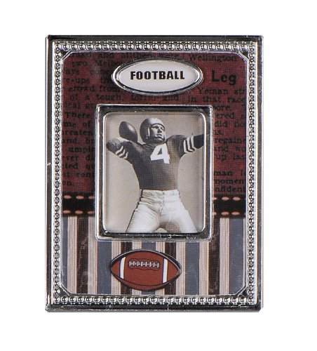 Youngs Football 1 by 1.125-Inch Magnet Frame 2.75-Inch