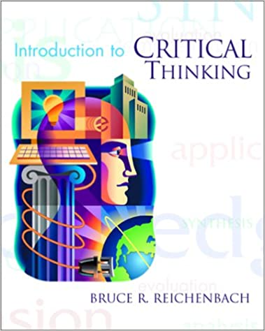 Amazon com  Current Issues and Enduring Questions  A Guide to     Amazon com  Critical Thinking  Building the Basics  Study Skills Critical Thinking                   Timothy L  Walter  Glenn M  Knudsvig  Donald E  P
