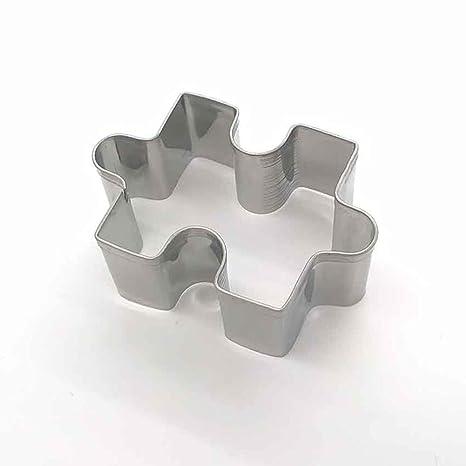 Kitchen Tools - Molde de acero inoxidable para cortar galletas y tartas, plateado, Tamaño