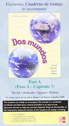 Dos mundos Student Electronic WB/LM Manual Combined Prepack