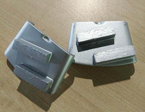12 pieces Durable HTC Diamond Grinders HTC Diamond Pads Long Lifespan 2 Segments Type