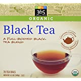 365 Everyday Value Organic Black Tea (70 Tea Bags), 4.9 oz