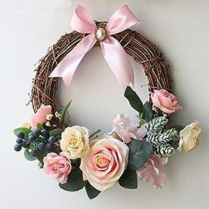 artificial rose wreaths